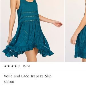 Free People Dresses - Free People Voile and Lace Trapeze Dress